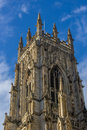 Main tower York Cathedral Royalty Free Stock Photography