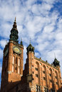 Main Town Hall in Gdansk Stock Photography