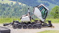 Maintenance vehicle in ski resort during the summer Stock Photos