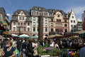 MAINZ, GERMANY Farmer market Royalty Free Stock Image