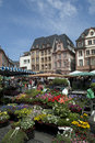 MAINZ, GERMANY Farmer market Stock Photo