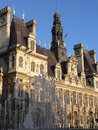 Mairie de Paris Royalty Free Stock Images