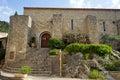 Maison communale saint guilhem le desert france circa july Royalty Free Stock Images