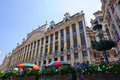 Maison des Ducs de Brabant at Grand Place in Brussels, Belgium Stock Photos
