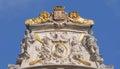 Maison du cornet en grand place Foto de archivo libre de regalías