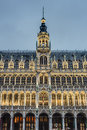 The maison du roi in brussels belgium king s house or broodhuis bread house on grand place grote markt central square of most Royalty Free Stock Image