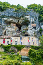 Maison forte de Reignac dordogne perigord france Stock Photo
