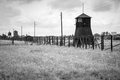 Majdanek concentration camp in lublin poland on the outskirts of on july more than people were killed at during the Royalty Free Stock Photography