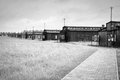 Majdanek concentration camp in lublin poland on the outskirts of on july more than people were killed at during the Royalty Free Stock Photos