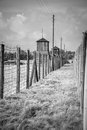 Majdanek concentration camp in lublin poland on the outskirts of on july more than people were killed at during the Stock Image