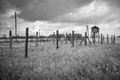 Majdanek concentration camp in lublin poland on the outskirts of on july more than people were killed at during the Stock Images
