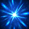 Majestic blue flash abstract background Royalty Free Stock Photo