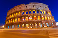 The Majestic Coliseum, Rome, Italy. Stock Image