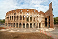 The Majestic Coliseum, Rome, Italy. Stock Images