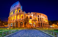 The majestic coliseum rome italy amphitheater Royalty Free Stock Photography