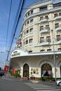 Majestic Hotel Entrance, Ho chi Minh City, Vietnam Royalty Free Stock Photo