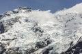 Majestic mount cook aoraki mount cook national park Stock Photos