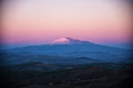 The majestic Mount Etna Royalty Free Stock Photo