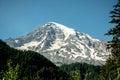 The Majestic Mt. Ranier Royalty Free Stock Photo