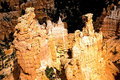 Majestic Rock Formations at Bryce Canyon N.P. Royalty Free Stock Photo