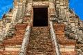 Majestic ruins of 1629 Wat Chai Watthanaram built by King Prasat