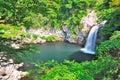 Majestic waterfall Royalty Free Stock Photo