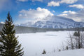 Majestic Winter Landscape Royalty Free Stock Photo