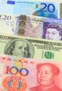 Major Currencies Royalty Free Stock Photo