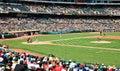 Major league baseball game interliga Foto de Stock Royalty Free