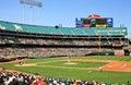 Major league baseball interleague game Foto de Stock