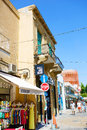 The major shopping thoroughfare in central nicosia ledra street on september cyprus cyprus which links north Royalty Free Stock Photos