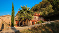 Majorca island balearic islands mediterranean finca architecture of Royalty Free Stock Photography