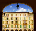Majorca Plaza Mayor in Palma de Mallorca Royalty Free Stock Images