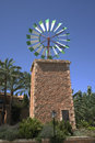 Majorcan windmill Royalty Free Stock Images