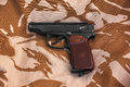 Makarov pistol Royalty Free Stock Photo