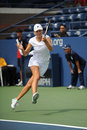 Makarova Ekaterina at US Open 2009 (29) Royalty Free Stock Photography