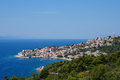 Makarska riviera beautiful view of igrane croatia Royalty Free Stock Photo