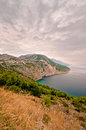 Makarska riviera dinara mountains biokovo Royalty Free Stock Images