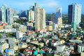 Makati city Royalty Free Stock Image