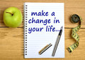 Make a change in your life Royalty Free Stock Photo