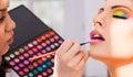 Make-up artist Royalty Free Stock Photo