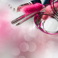 Make up composition Royalty Free Stock Photo