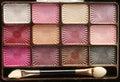 Make up eyeshadow Stock Photo