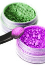 Make-up eyeshadows Royalty Free Stock Photo
