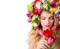 Make up and femininity Royalty Free Stock Photo