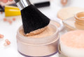 Make up powder Stock Photos