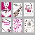 Make Up Shop Poster Set
