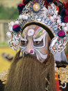 Make up style of chinese opera ubon ratchathani thailand – nov unidentified man with traditional in annual cerebration bhuda Stock Images