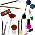 Make up tools Stock Image