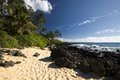 Makena (Big) Beach, Maui, Hawaii Royalty Free Stock Photography